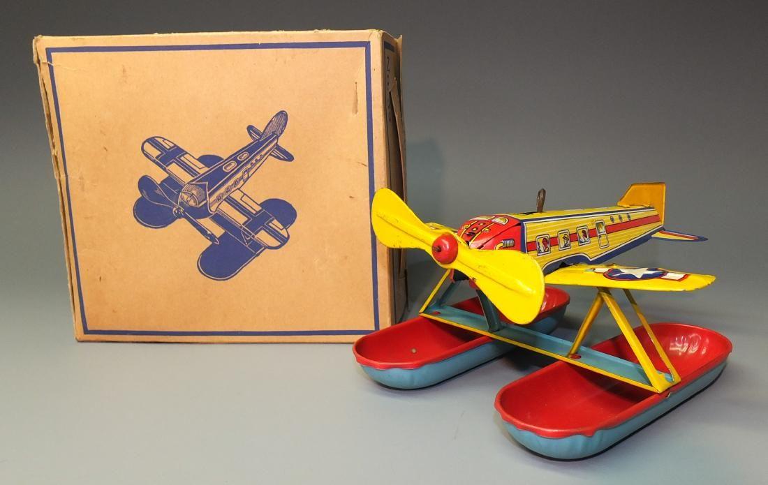 CHEIN AQUAPLANE AIRPLANE WINDUP & BOX