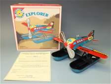 SCHYLLING EXPLORER AQUAPLANE AIRPLANE & BOX