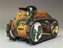 MARX WINDUP MIDGET CLIMBING FIGHTING TANK