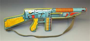 UNIQUE ART SUPERFIRE GI JOE MACHINE GUN