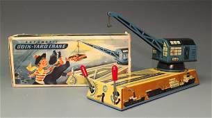 BILLER REMOTE CONTROL DOCK YARD CRANE & BOX