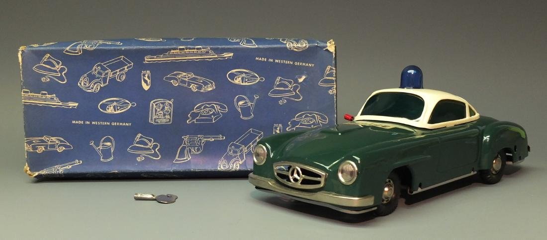 RARE GERMAN MS 1945 MERCEDES POLICE CAR & BOX