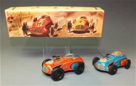 PHILIP NIEDERMEIER WINDUP RACER CARS #260 & BOX