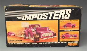 AURORA IMPOSTERS WILLYS COUPE & BOX