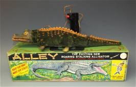 MARX ALLEY BATTERY OP RC ALLIGATOR & BOX