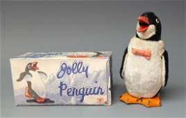 MODERN TOYS JOLLY PENGUIN WINDUP & BOX