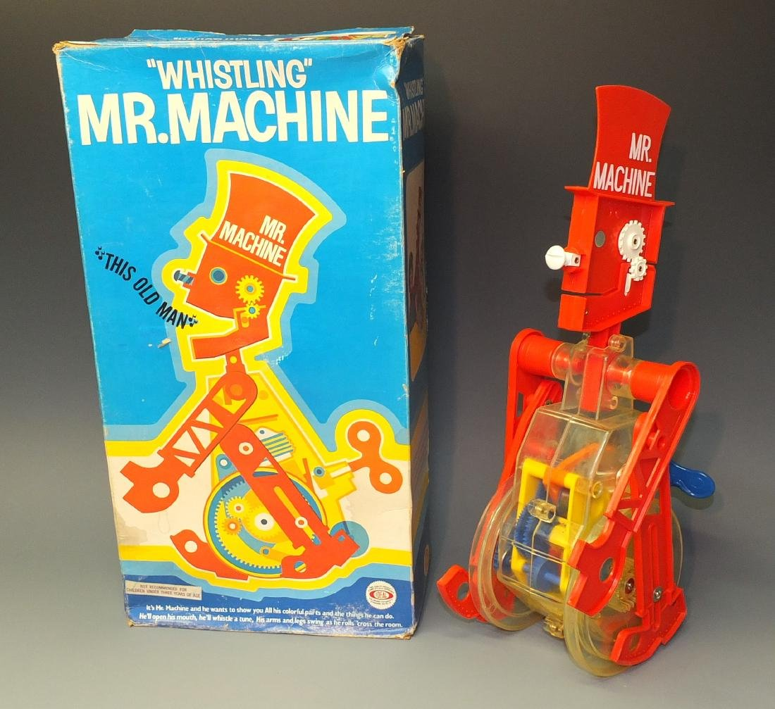 IDEAL MR. MACHINE ROBOT & BOX