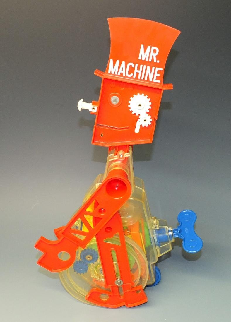 IDEAL MR. MACHINE ROBOT & BOX - 3