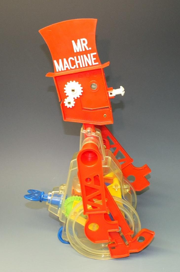 IDEAL MR. MACHINE ROBOT & BOX - 5
