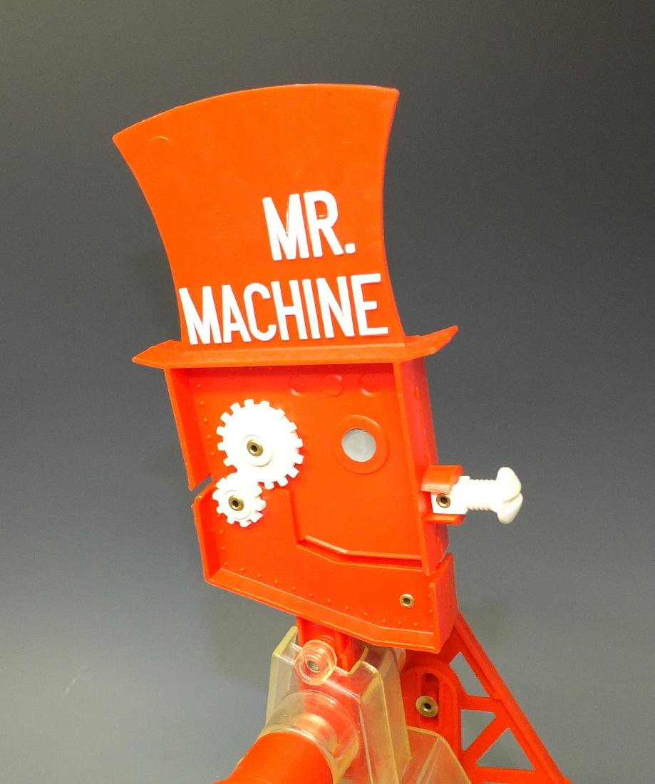IDEAL MR. MACHINE ROBOT & BOX - 7