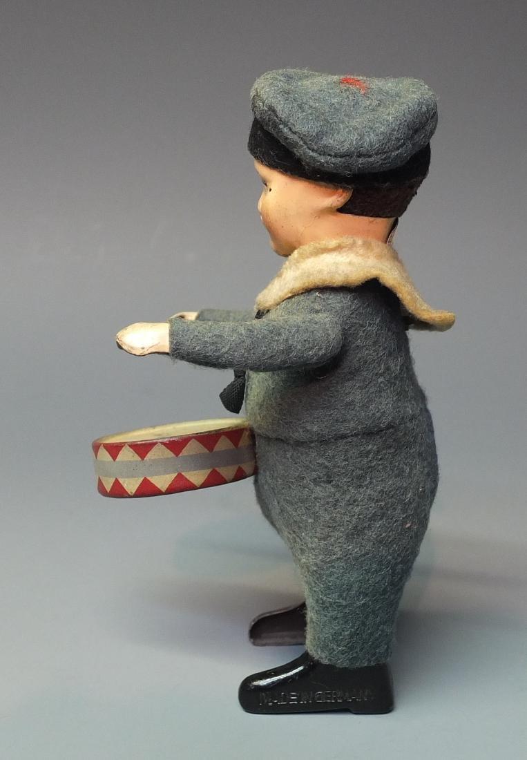 SCHUCO GERMAN 975/1 SAILOR BOY DRUMMER WINDUP - 2