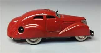 SCHUCO GERMAN 3000 TELESTEERING TIN WIND UP CAR