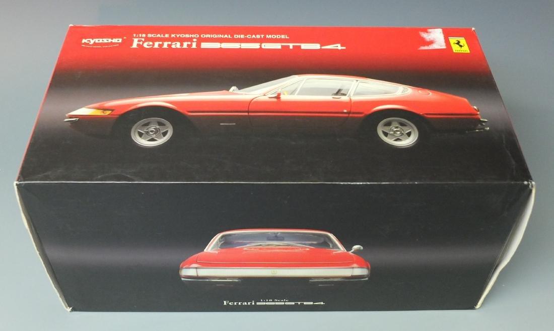 KYOSHO RED FERRARI 365GTB4 1969 DAYTONAÿ1:18 SCALE - 8