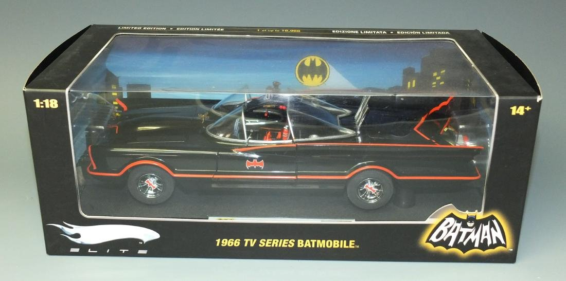 HOT WHEELS ELITE LIMITED EDITION 1966 TV SERIES