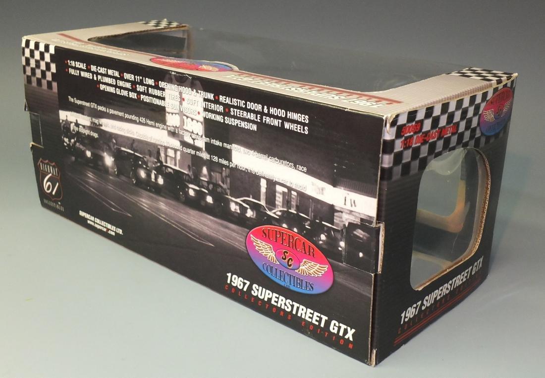 ERTL HIGHWAY 61 SUPERCAR COLLECTIBLESÿ1967 PLYMOUTH - 9