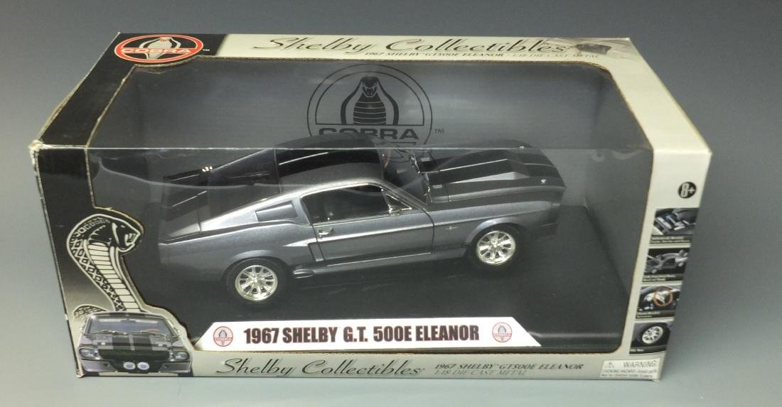 SHELBY COLLECTIBLES GRAY 1967 SHELBY GT500E ELEANOR - 10