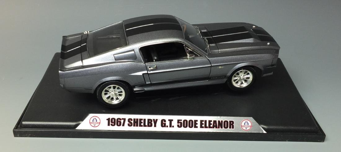SHELBY COLLECTIBLES GRAY 1967 SHELBY GT500E ELEANOR - 2