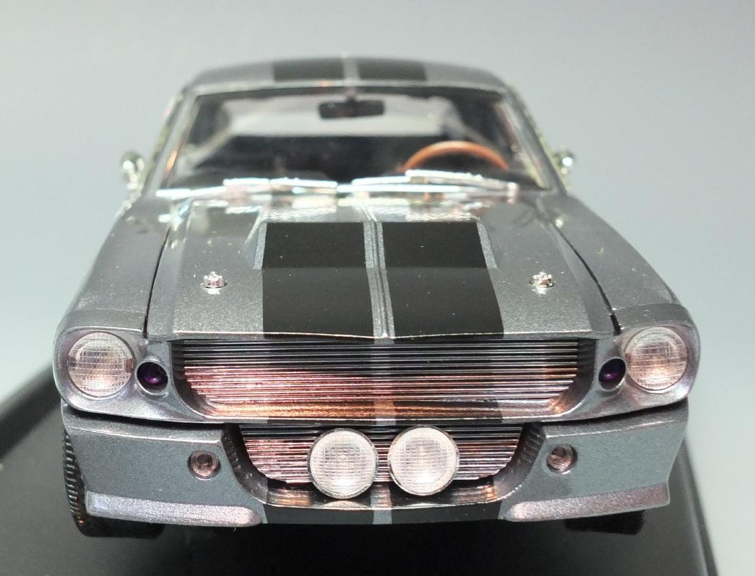 SHELBY COLLECTIBLES GRAY 1967 SHELBY GT500E ELEANOR - 4