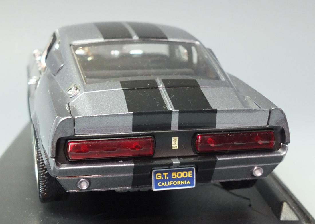 SHELBY COLLECTIBLES GRAY 1967 SHELBY GT500E ELEANOR - 6