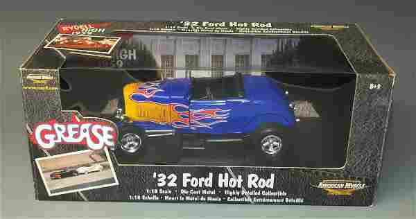 ERTL AMERICAN MUSCLE 1932 '32 FORD HOT ROD GREASE CAR