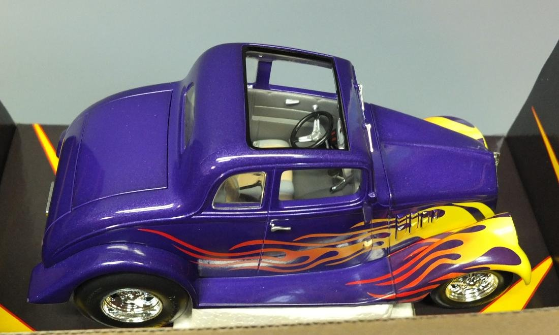 RARE 2002 FIRST GEAR 1933 FAST WILLYS COUPE DIECAST CAR - 4