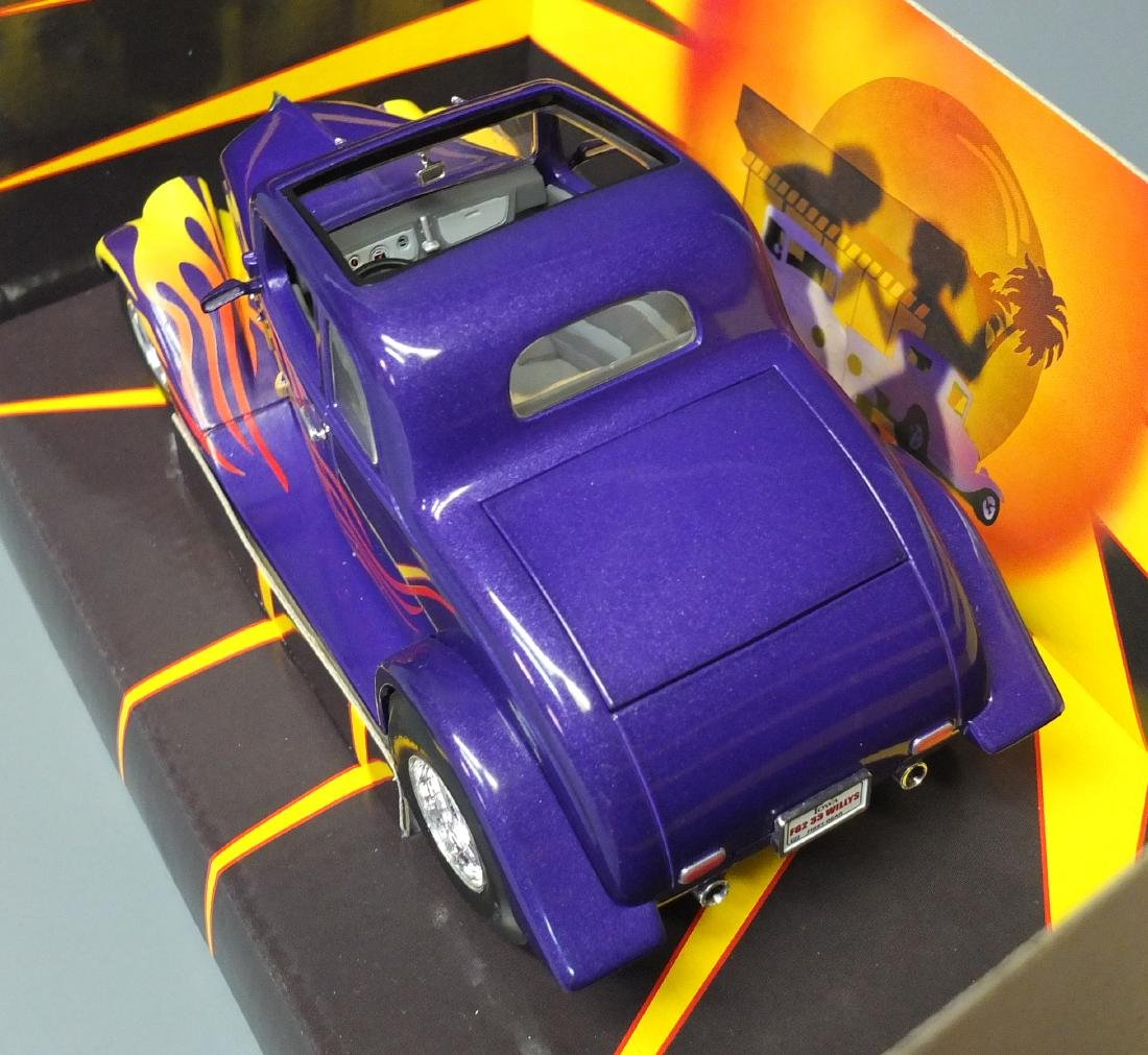 RARE 2002 FIRST GEAR 1933 FAST WILLYS COUPE DIECAST CAR - 5