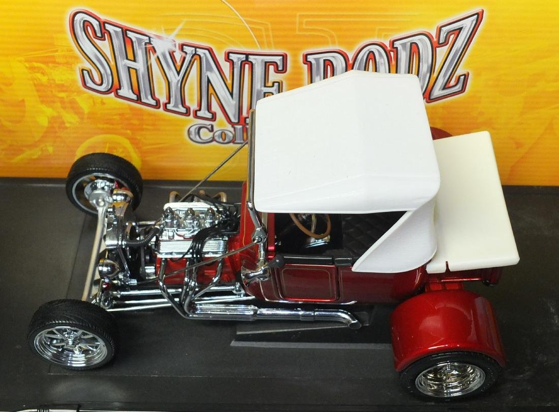 ROAD SIGNATURE SHYNE RODZ RED 1923 FORD T-BUCKET 1:18 - 5