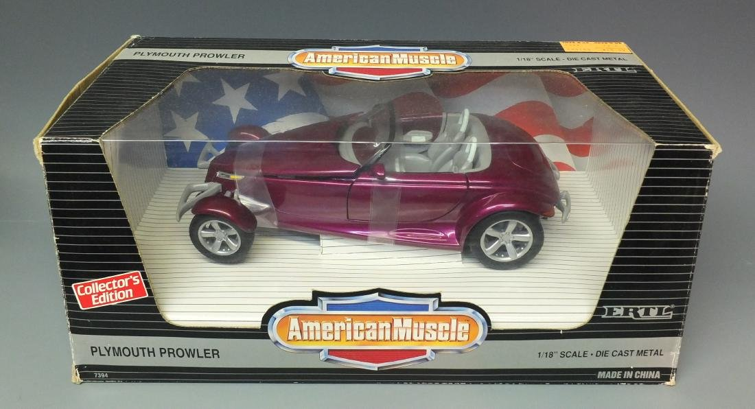ERTL AMERICAN MUSCLE PLYMOUTH PROWLER 1:18 FACTORY
