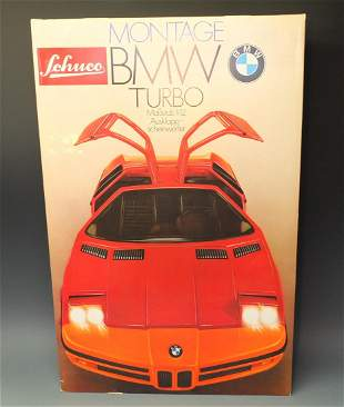 SCHUCO 225295 MONTAGE BMW TURBO KIT & BOX