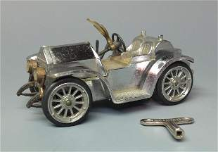 SCHUCO 10361 CHROME 1913 MERCER MICRO RACER