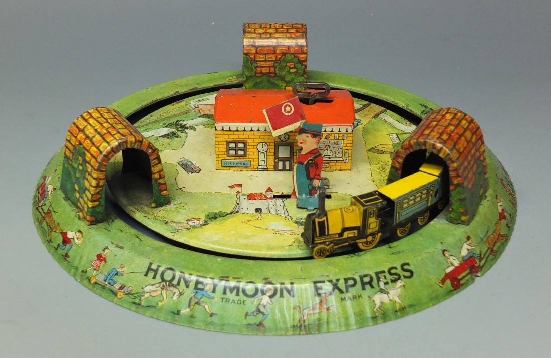MARX 1st VERSION HONEYMOON EXPRESS TRAIN & BOX - 2