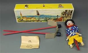 FECO GERMAN CLOWN TIGHTROPE UNICYCLIST BOX