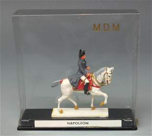MDM FRENCH MOUNTED NAPOLEON FIGURE BOX