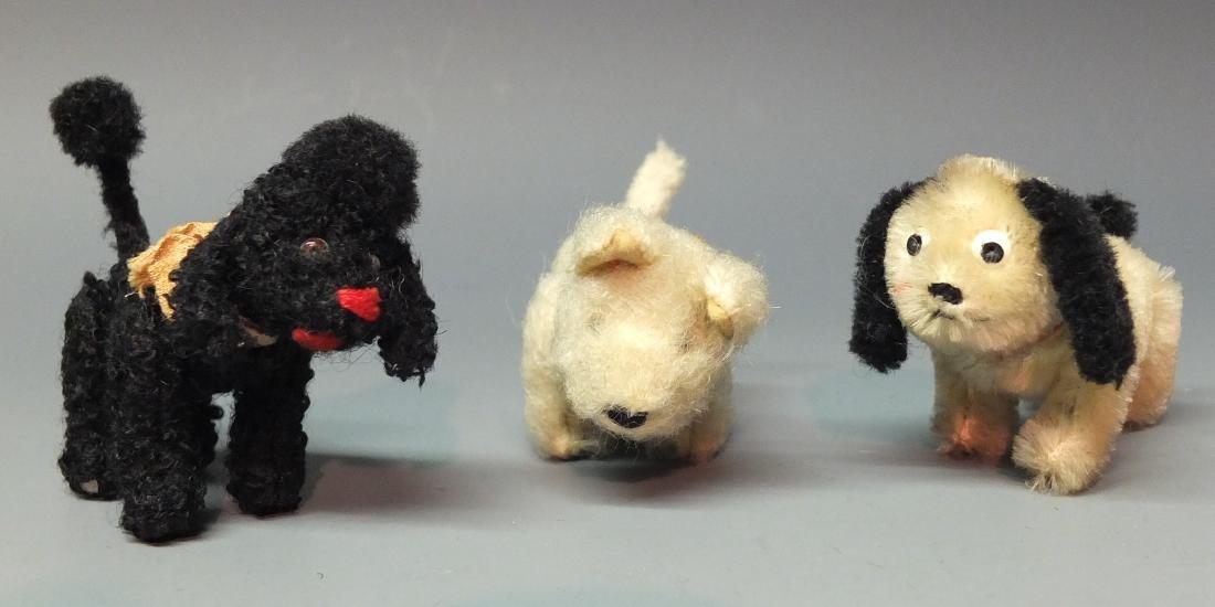 3 SCHUCO GERMAN NOAH'S ARK DOGS