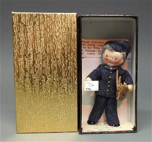 MILLYS MINIATURES THE MAIL MAILMAN DOLL BOX