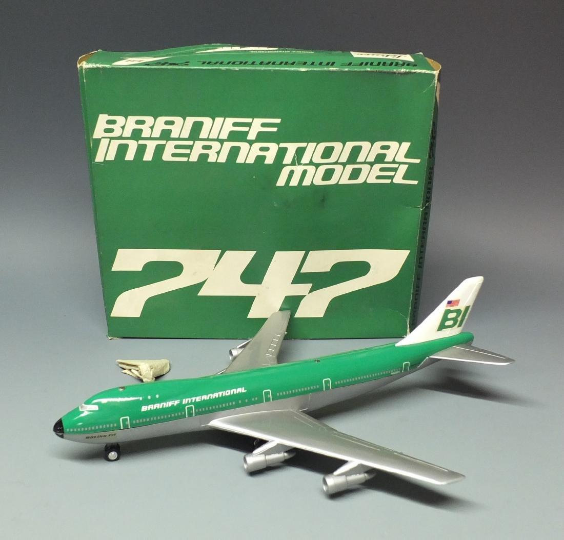 SCHUCO 1025 BRANIFF WINDUP 747 JET & BOX