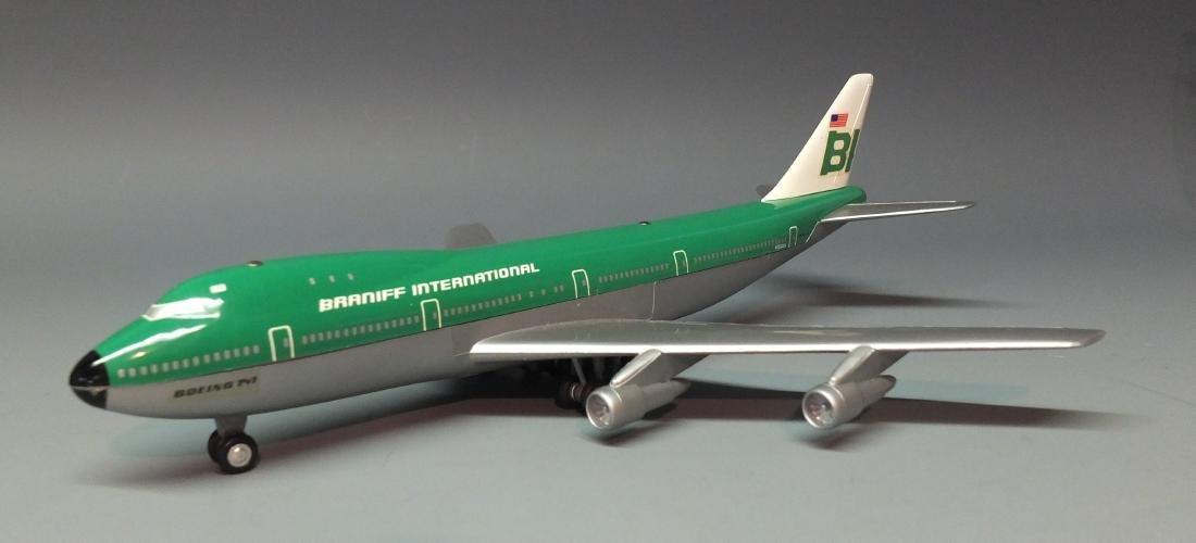 SCHUCO 1025 BRANIFF WINDUP 747 JET & BOX - 2