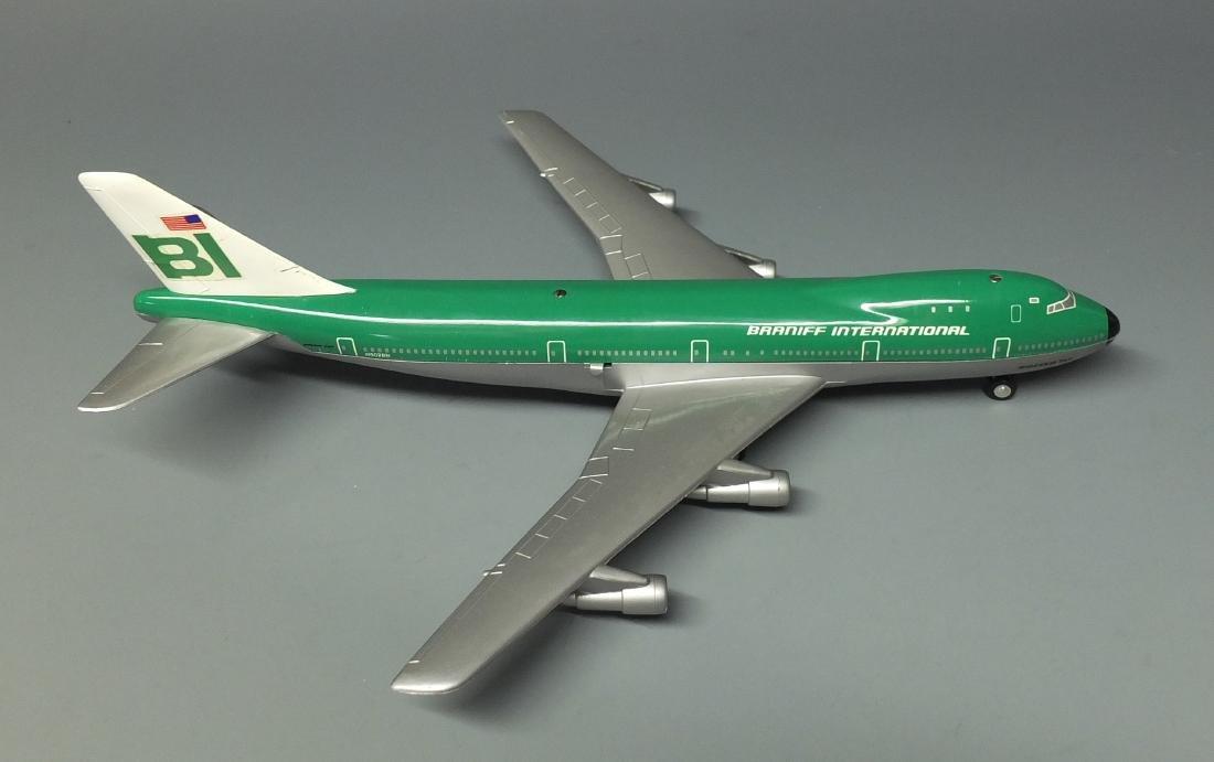 SCHUCO 1025 BRANIFF WINDUP 747 JET & BOX - 5
