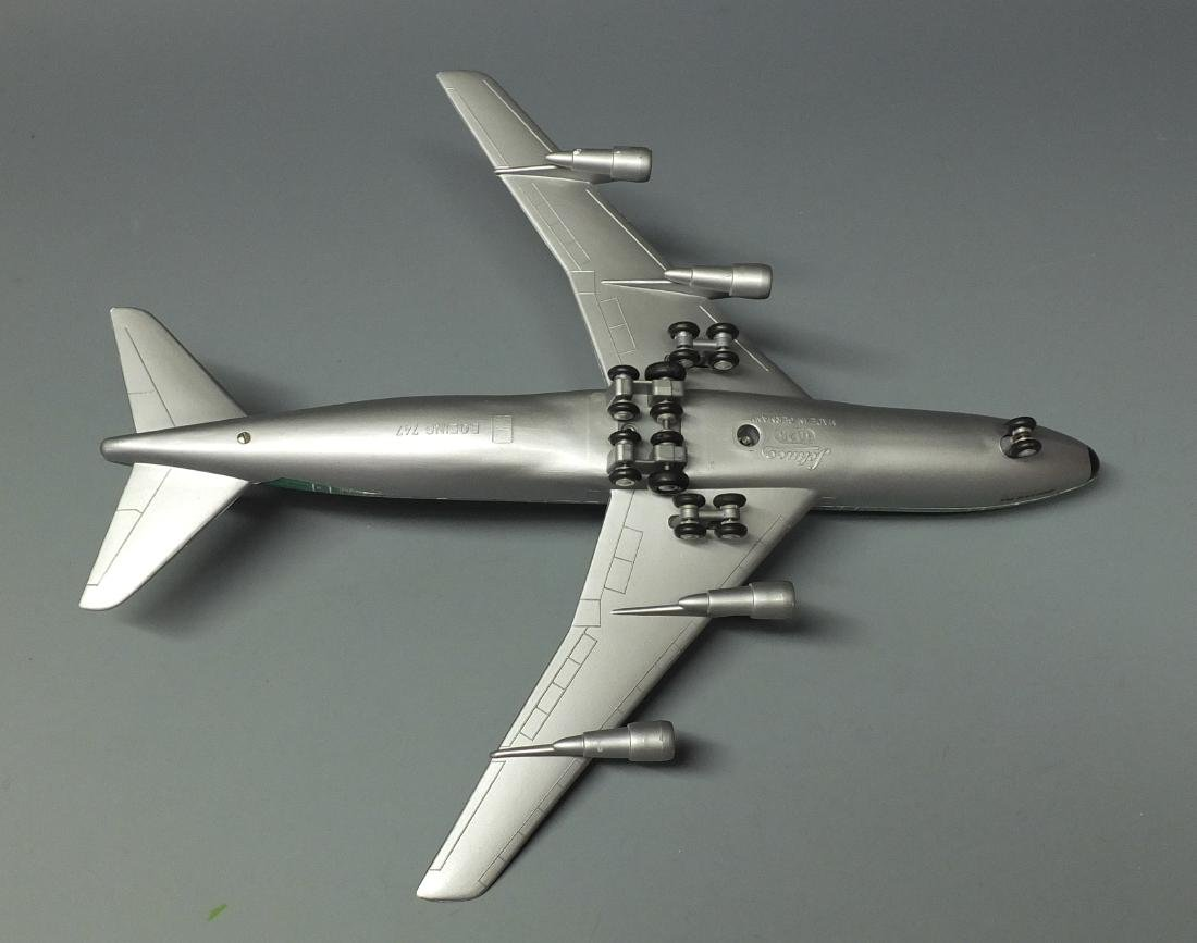 SCHUCO 1025 BRANIFF WINDUP 747 JET & BOX - 7