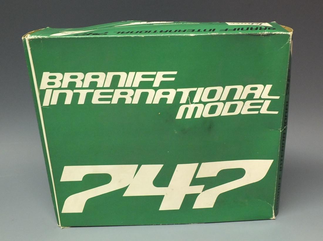 SCHUCO 1025 BRANIFF WINDUP 747 JET & BOX - 8