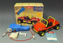 SCHUCO 351121 BEACH BUGGY WIND UP RC CAR  BOX