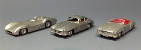 3 MARKLIN MERCEDES CARS