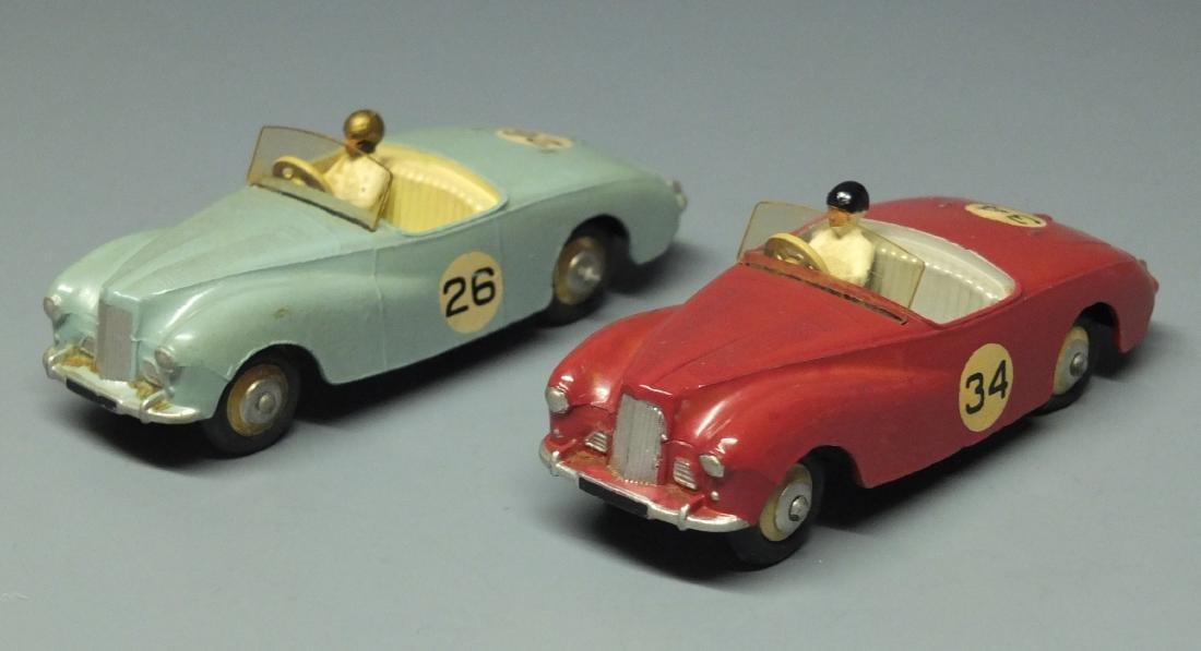 2 DINKY SUNBEAM ALPINE #107 RACE CARS