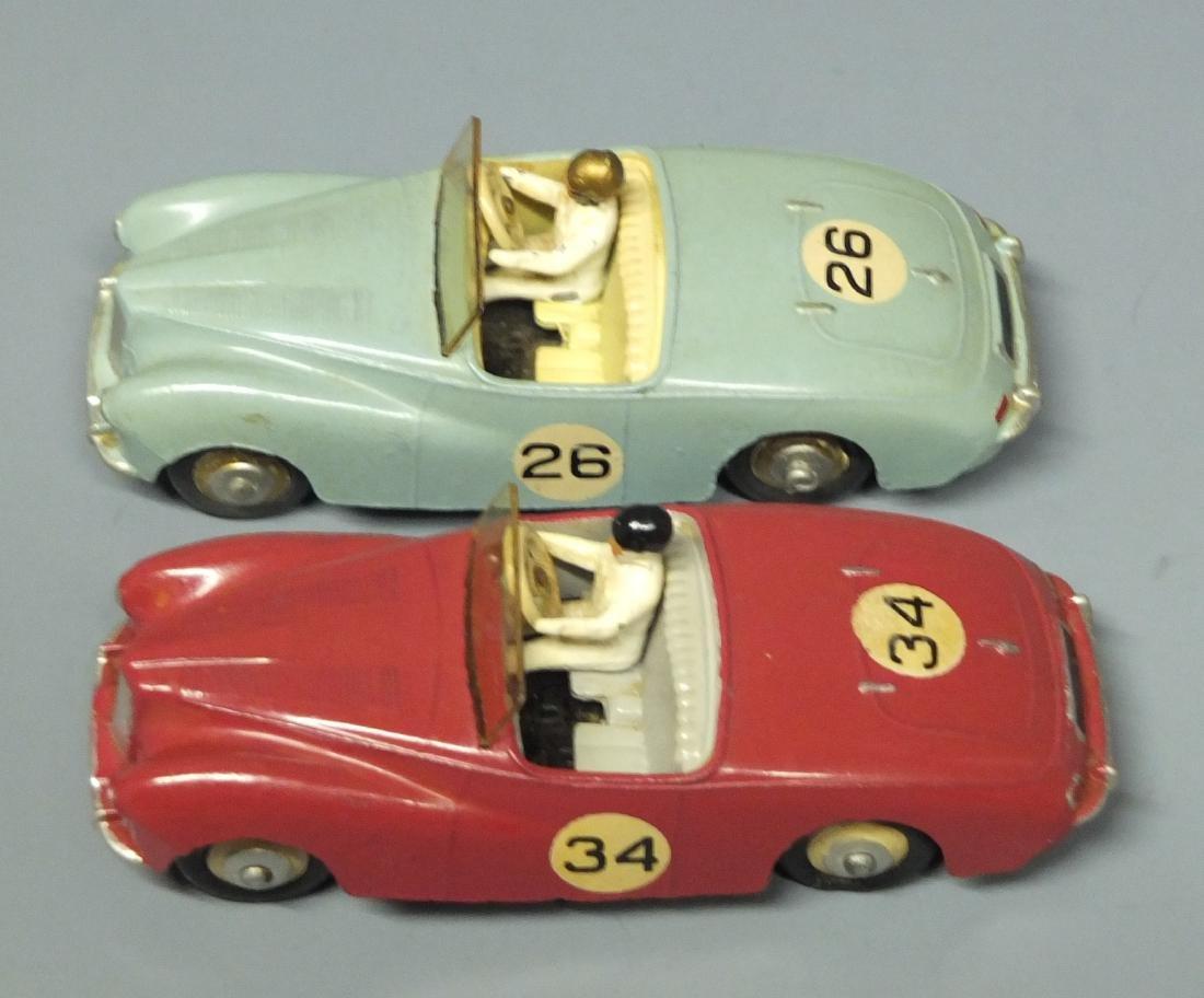 2 DINKY SUNBEAM ALPINE #107 RACE CARS - 6