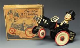 MARX CHARLIE MCCARTHY BENZINE BUGGY & BOX
