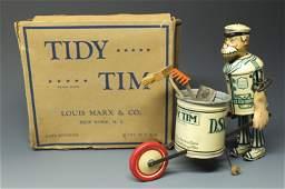 MARX TIDY TIM WALKER TIN WINDUP & BOX