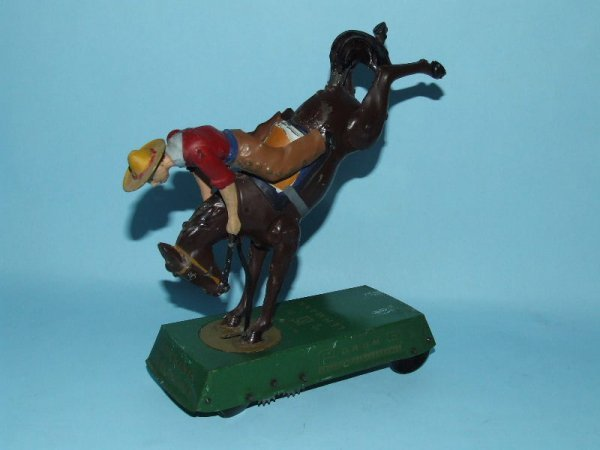 3: LEHMANN WILD WEST BUCKING BRONCO TIN WIND UP #625