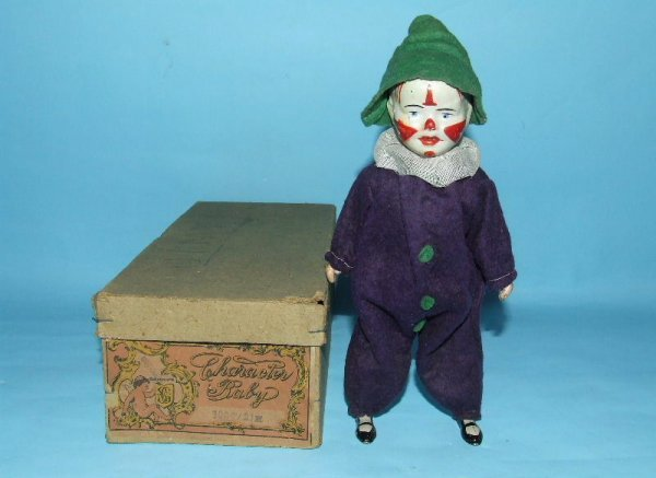5: GUNTHERMANN GERMAN CLOWN MECHANICAL WIND UP & BOX