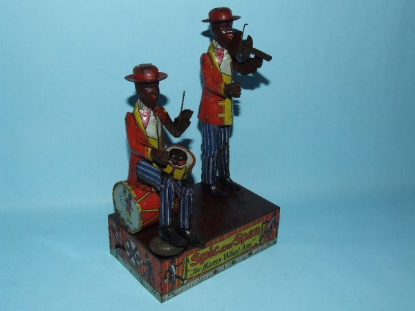 48: MARX SPIC AND SPAN COON JIGGER TIN WIND UP TOY