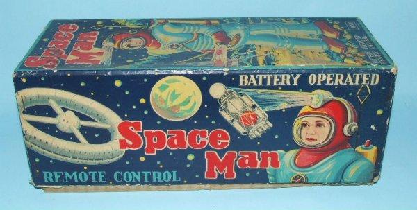 85: SONSCO NOMURA SPACE MAN ROBOT TIN BO TOY & BOX - 10